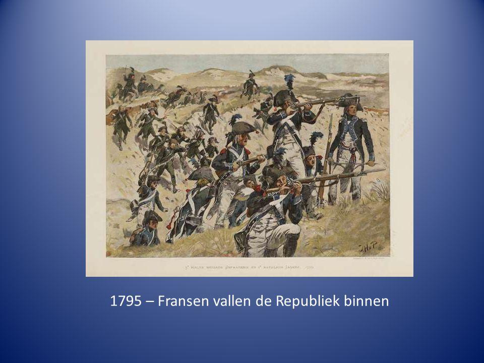 1795 – Fransen vallen de Republiek binnen