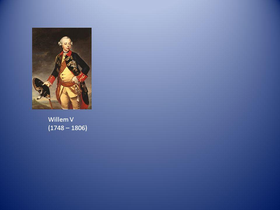 Willem V (1748 – 1806)