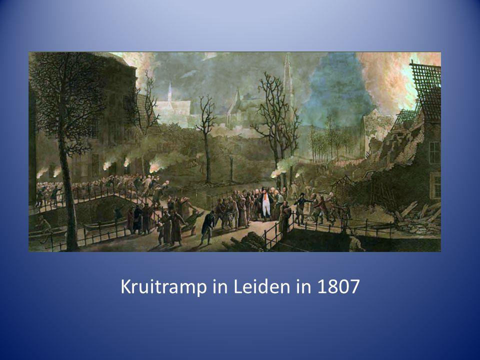 Kruitramp in Leiden in 1807