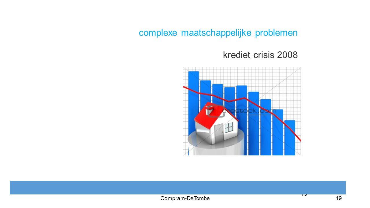 19 complexe maatschappelijke problemen krediet crisis 2008 Compram-DeTombe19