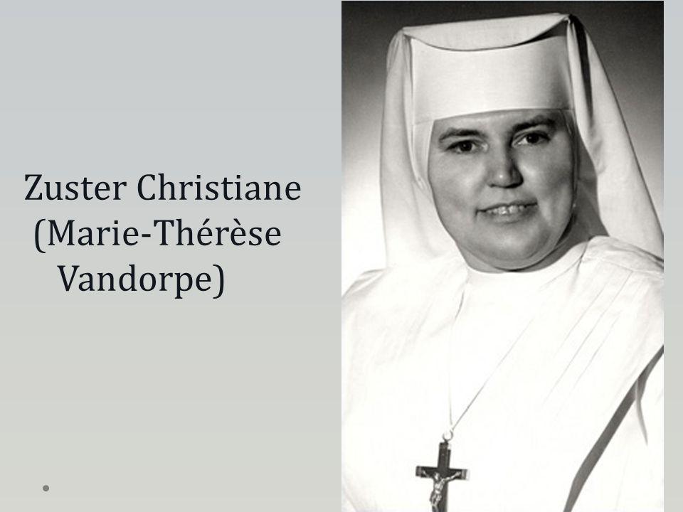 Zuster Christiane (Marie-Thérèse Vandorpe)
