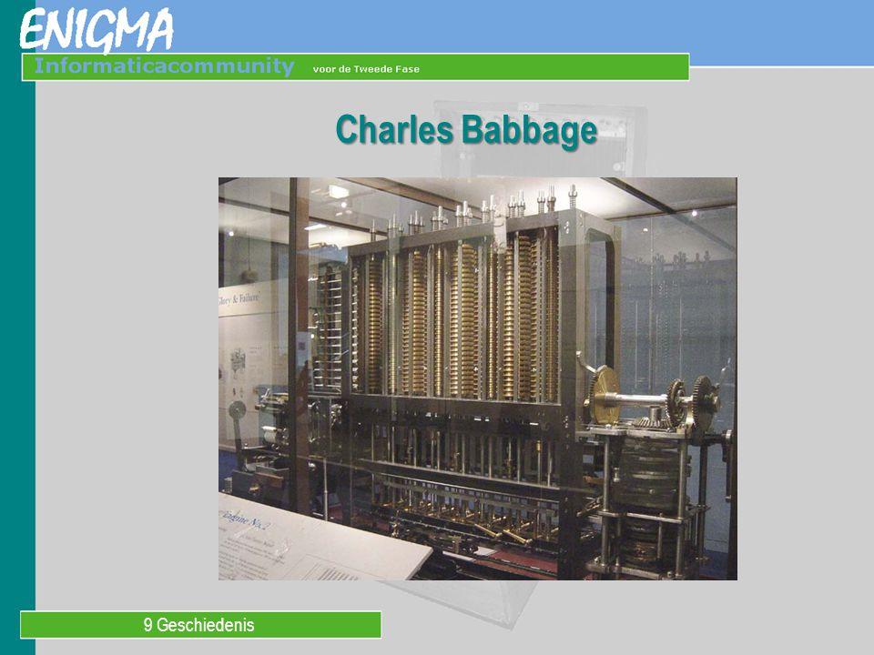 9 Geschiedenis Charles Babbage