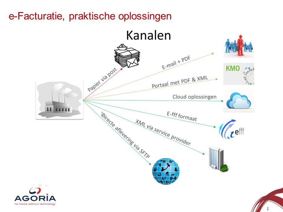 e-Facturatie, praktische oplossingen 2