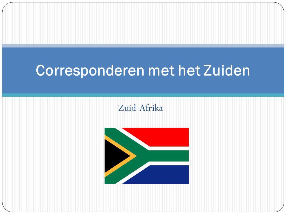 Zuid-Afrika Corresponderen met het Zuiden