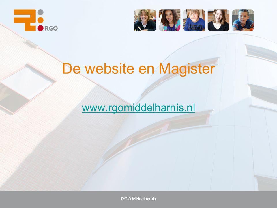 De website en Magister www.rgomiddelharnis.nl