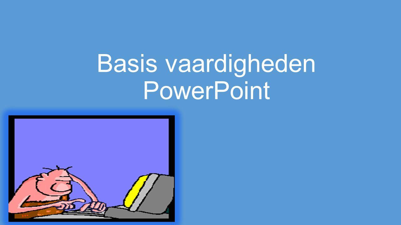 Doelen Voor je ZIL heb je het gereedschap om deze te maken.Je kunt een achtergrond plaatsen die niet standaard in PowerPoint word toegepast.Je kunt afbeeldingen in PowerPoint zetten.Je kunt hyperlinks in PowerPoint toepassen.Je kunt gebruik maken van animaties.Je kunt video's plaatsen in PowerPoint.