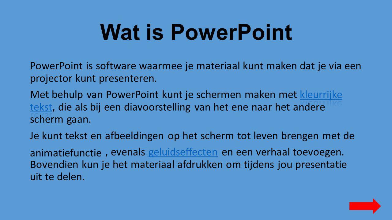 Wat is PowerPoint kleurrijke tekstkleurrijke tekst