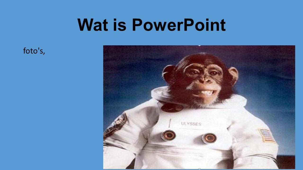 Wat is PowerPoint Tekeningen,