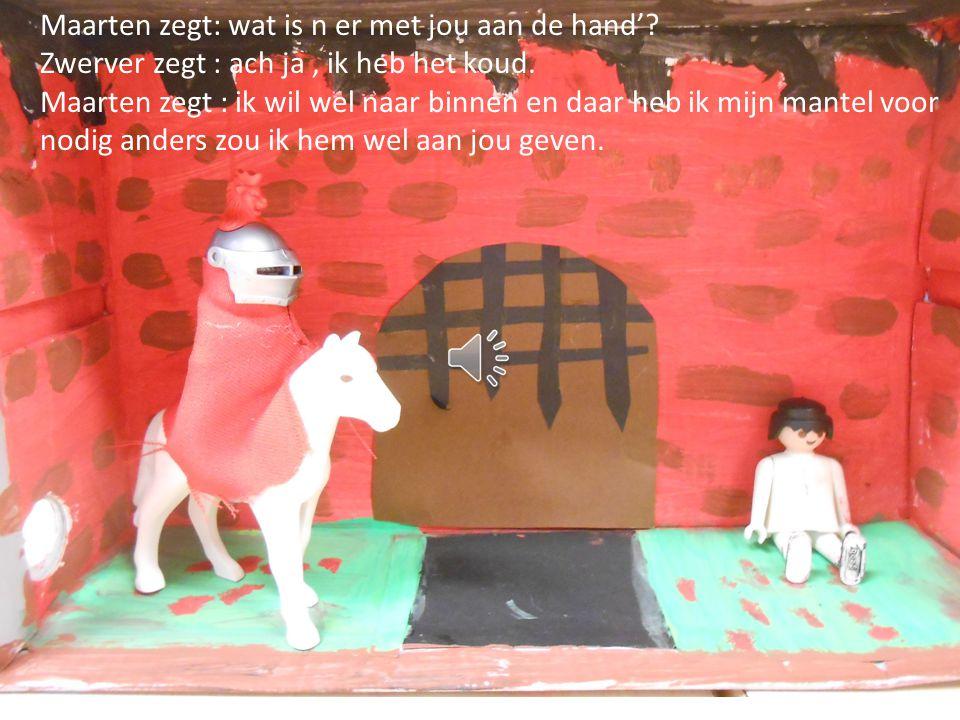 Sint Maarten Maarten was de zoon van een rijke koopman.
