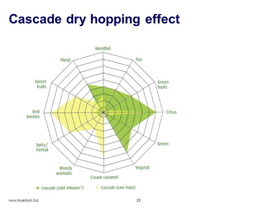 Cascade dry hopping effect www.kwantum.biz 29