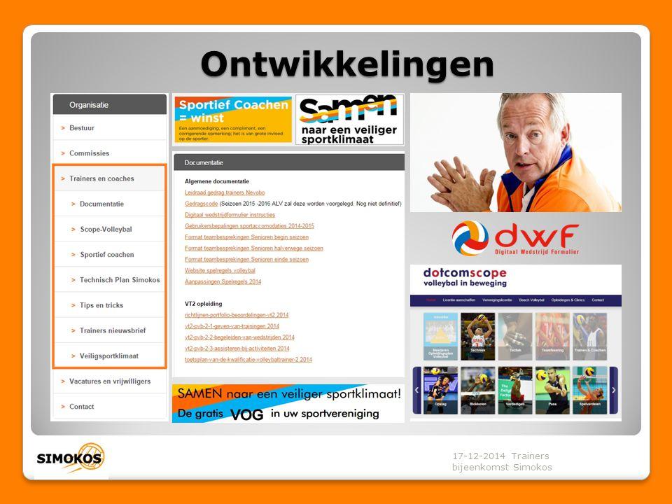 Websitepagina trainer en coaches