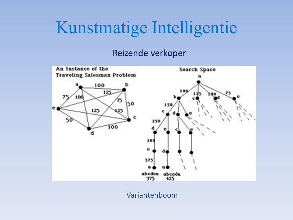 Kunstmatige Intelligentie Reizende verkoper Variantenboom