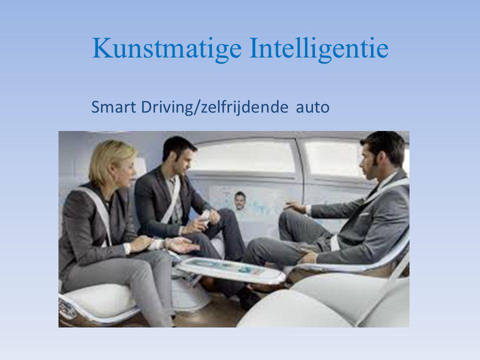 Smart Driving/zelfrijdende auto