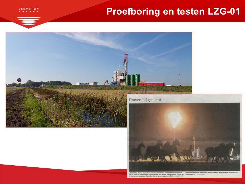 Proefboring en testen LZG-01 8