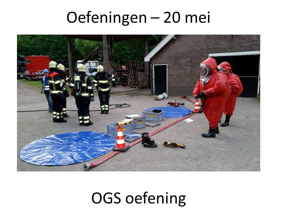 Oefeningen – 20 mei OGS oefening