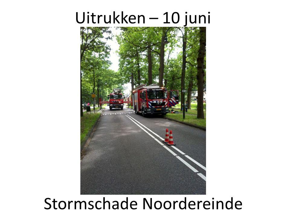 Uitrukken – 10 juni Stormschade Noordereinde