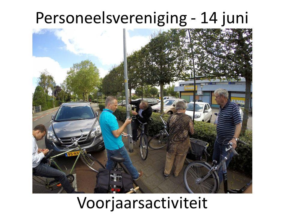 Personeelsvereniging - 14 juni Voorjaarsactiviteit