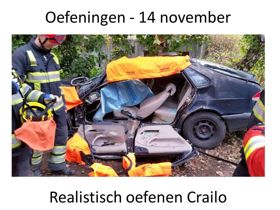 Oefeningen - 14 november Realistisch oefenen Crailo