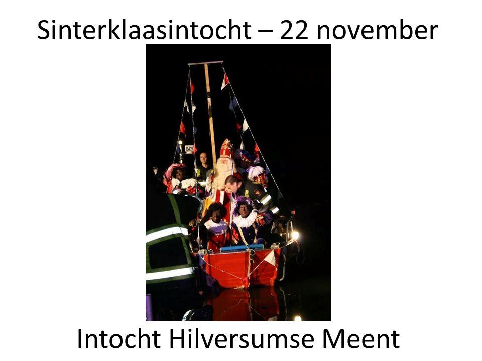 Sinterklaasintocht – 22 november Intocht Hilversumse Meent