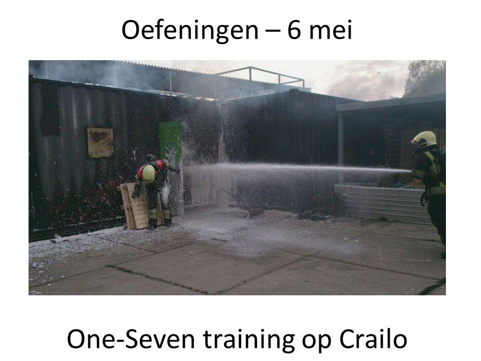 Oefeningen – 6 mei One-Seven training op Crailo