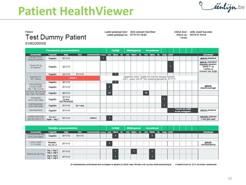 Patient HealthViewer 50