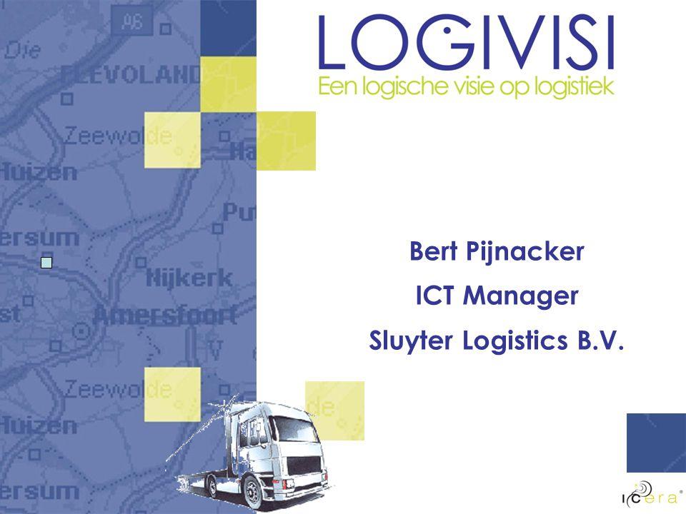 Bert Pijnacker ICT Manager Sluyter Logistics B.V.