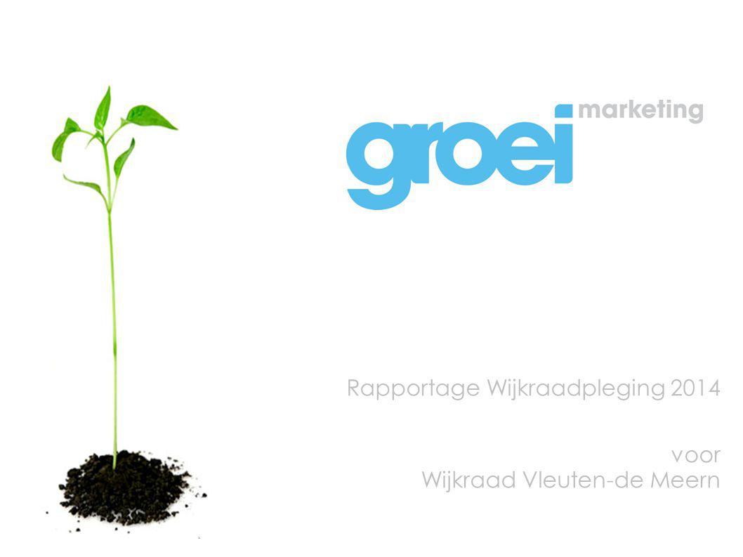 Rapportage Wijkraadpleging 2014 voor Wijkraad Vleuten-de Meern
