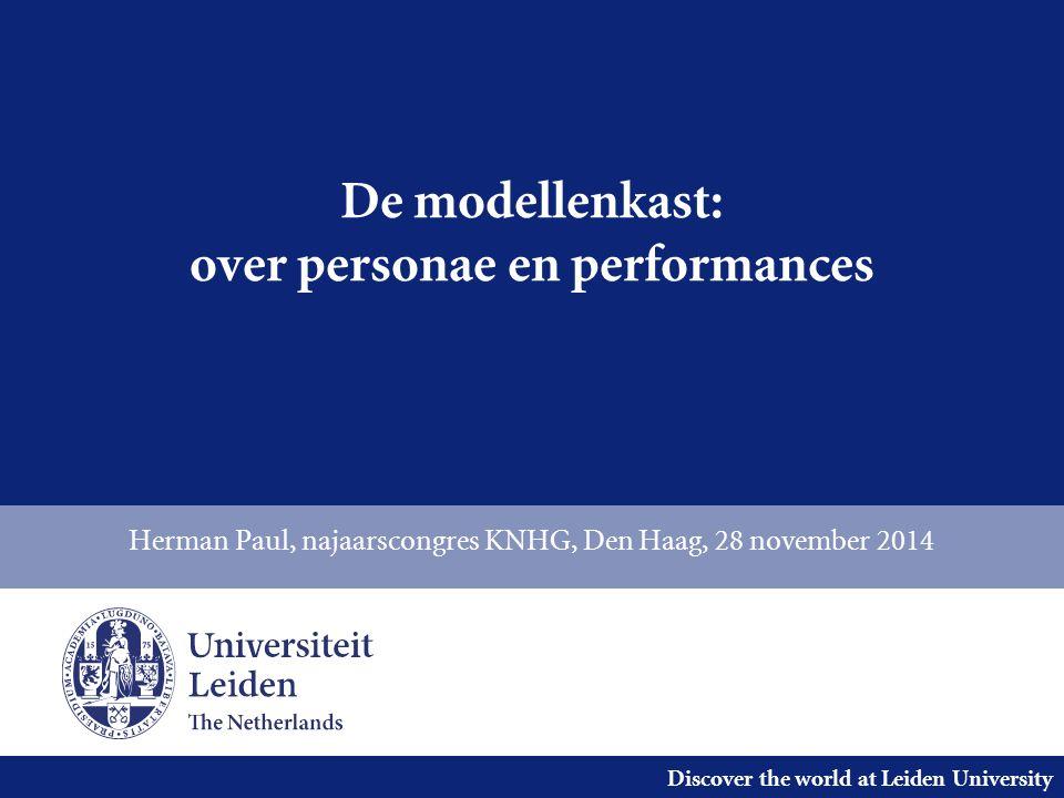 Discover the world at Leiden University Inleiding