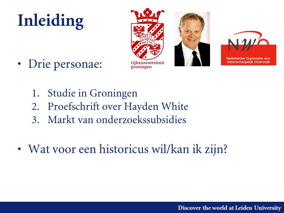 Discover the world at Leiden University Inleiding 1.