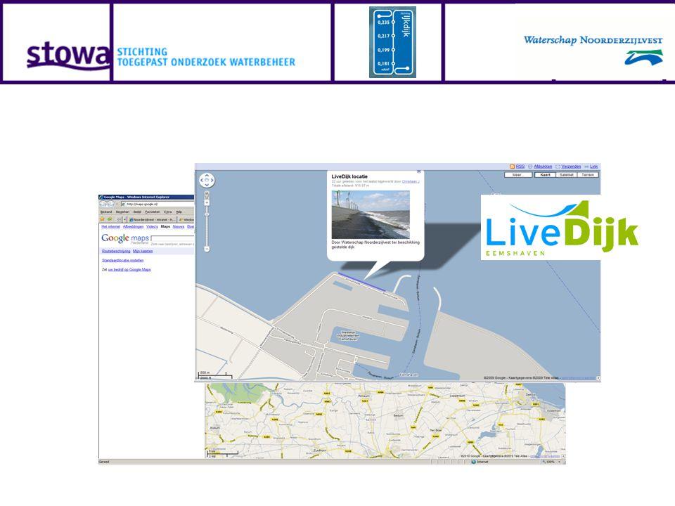 Ontsluiting gegevens: LiveDijk Eemshaven Online 14