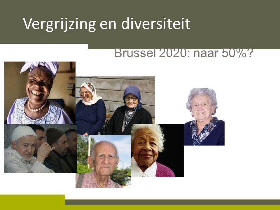 III.1.2 Diversiteit Brussel 2020: naar 50%? Vergrijzing en diversiteit