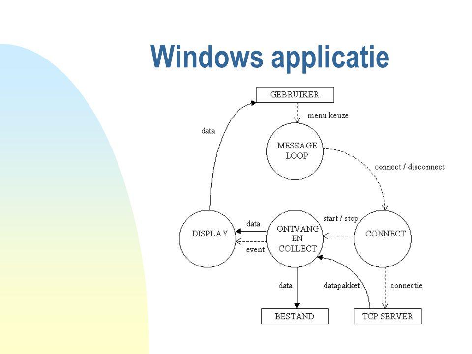 Windows applicatie