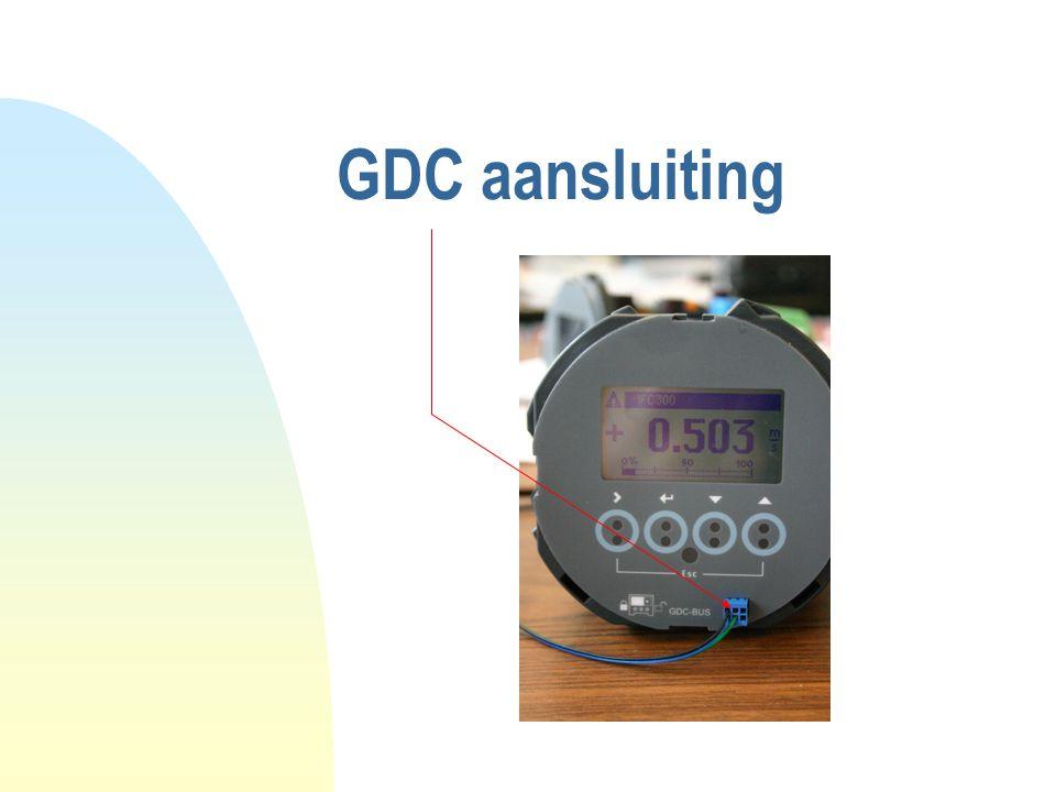 GDC aansluiting