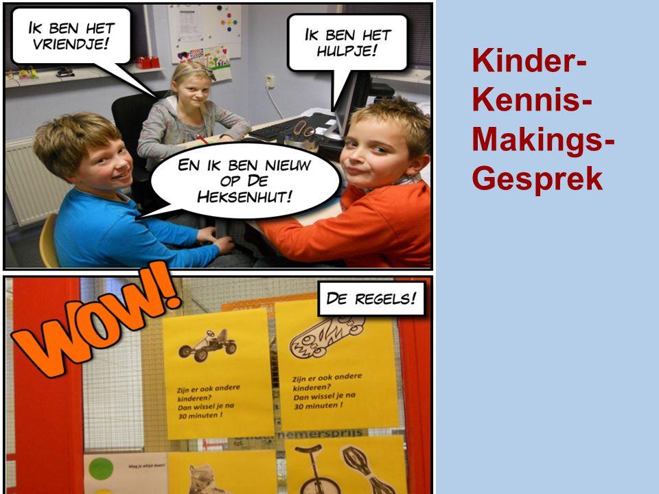 Kinder- Kennis- Makings- Gesprek