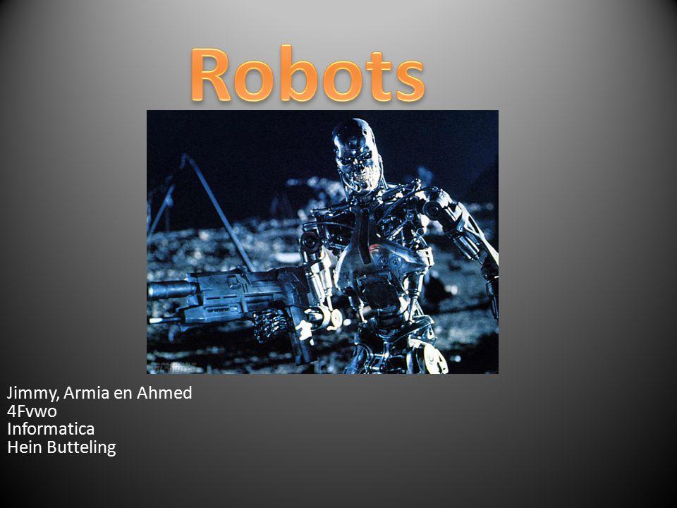 Jimmy, Armia en Ahmed 4Fvwo Informatica Hein Butteling