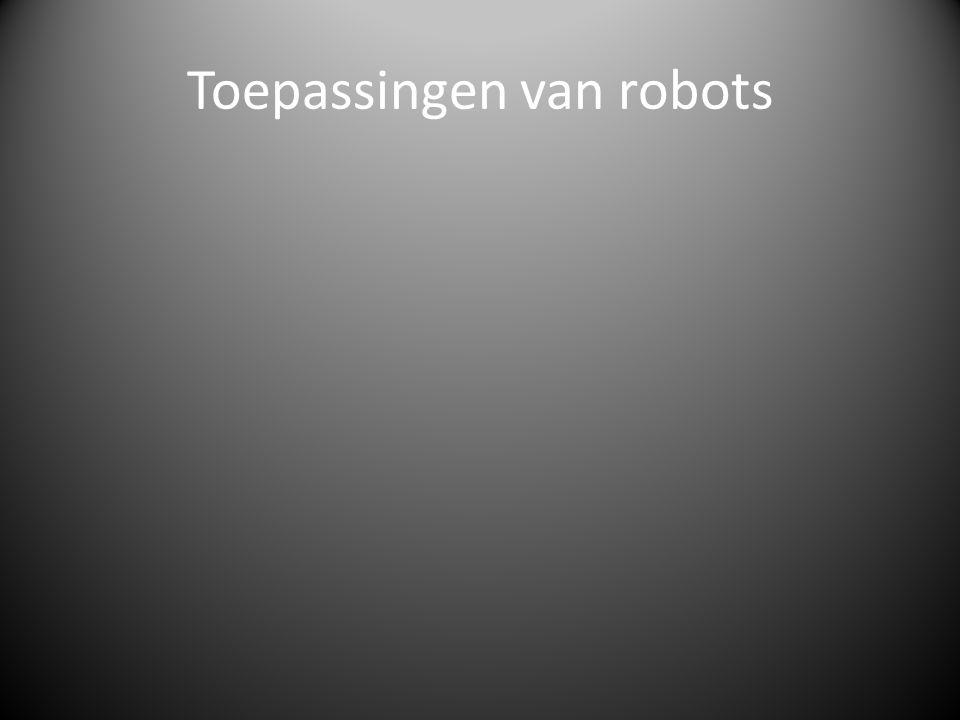 Toepassingen van robots