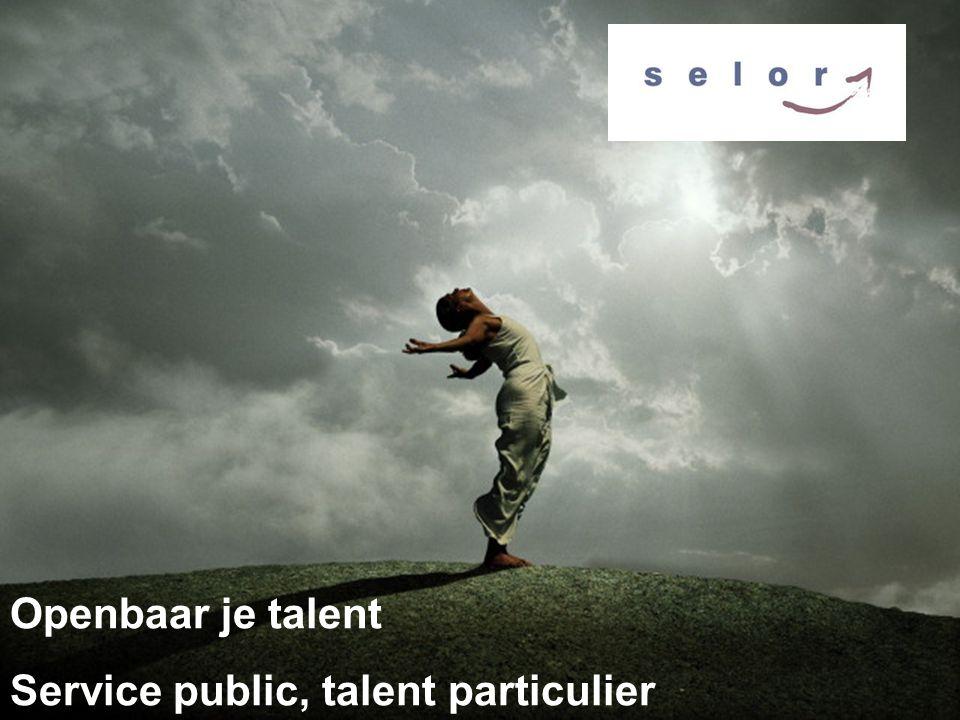 Openbaar je talent Service public, talent particulier