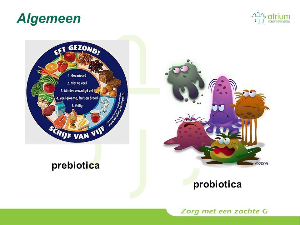 Algemeen prebiotica probiotica