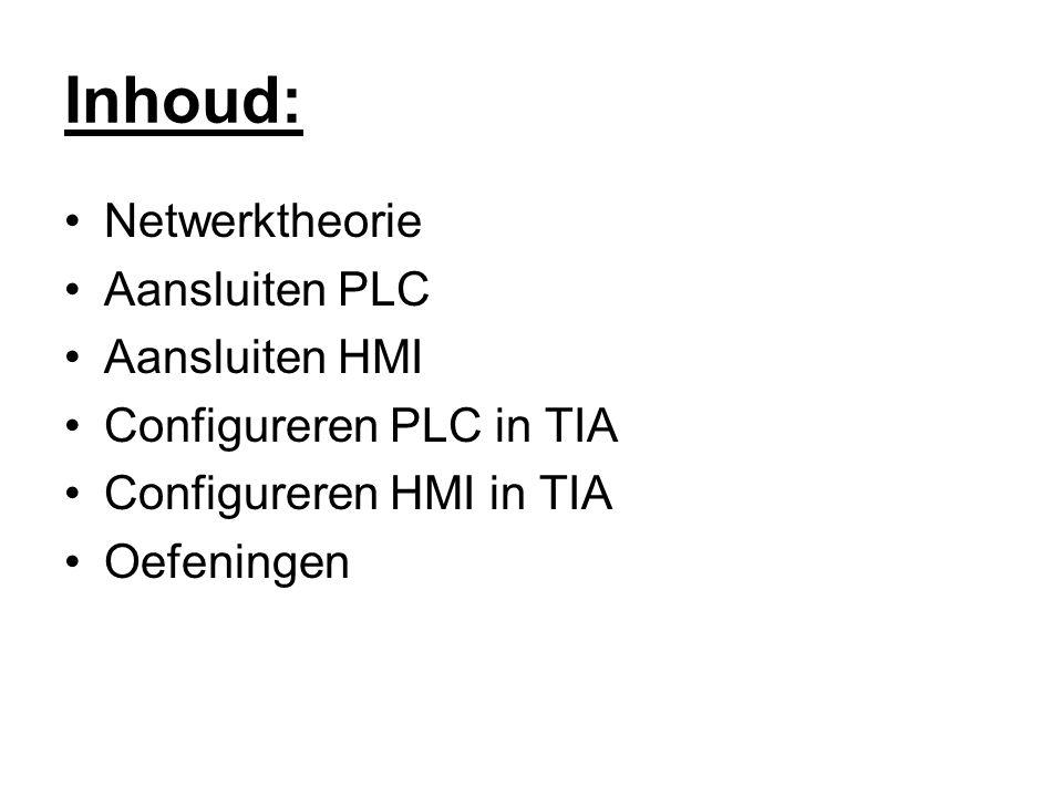 Aansluiten PLC Bekijk op voorhand datasheets!!.1214 AC/DC/RLY –230Vac toevoeren.