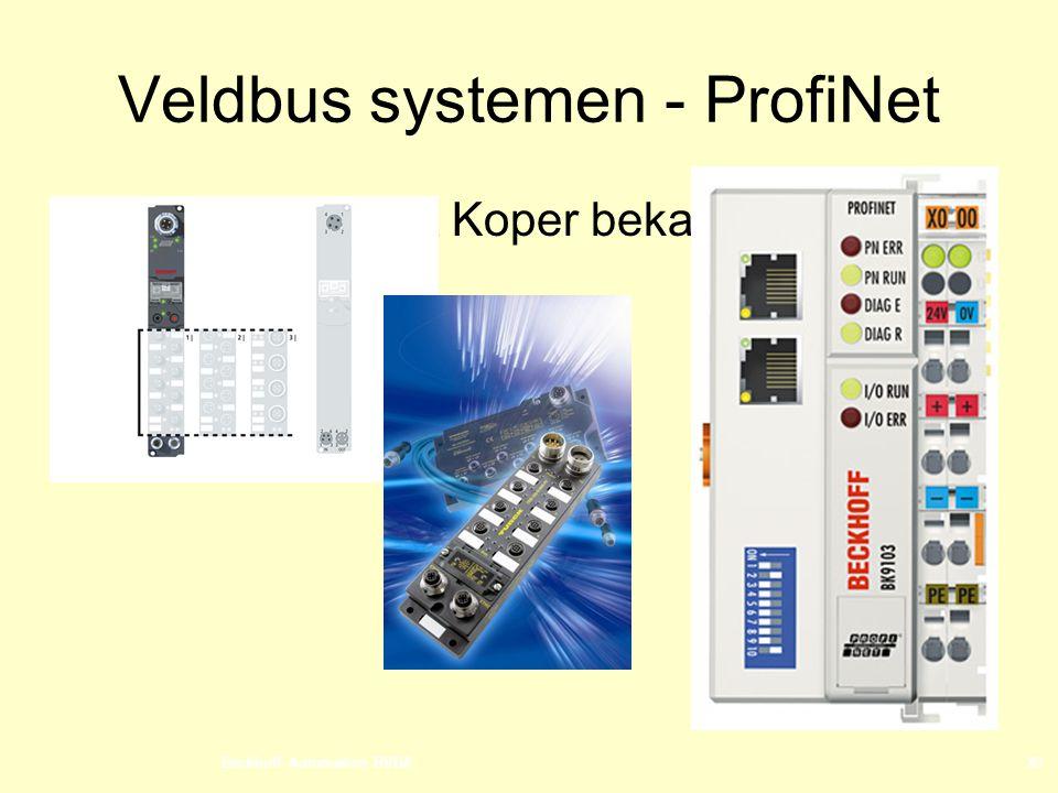 Beckhoff Automation BVBA20 Veldbus systemen - ProfiNet  I/O modules met Koper bekabeling