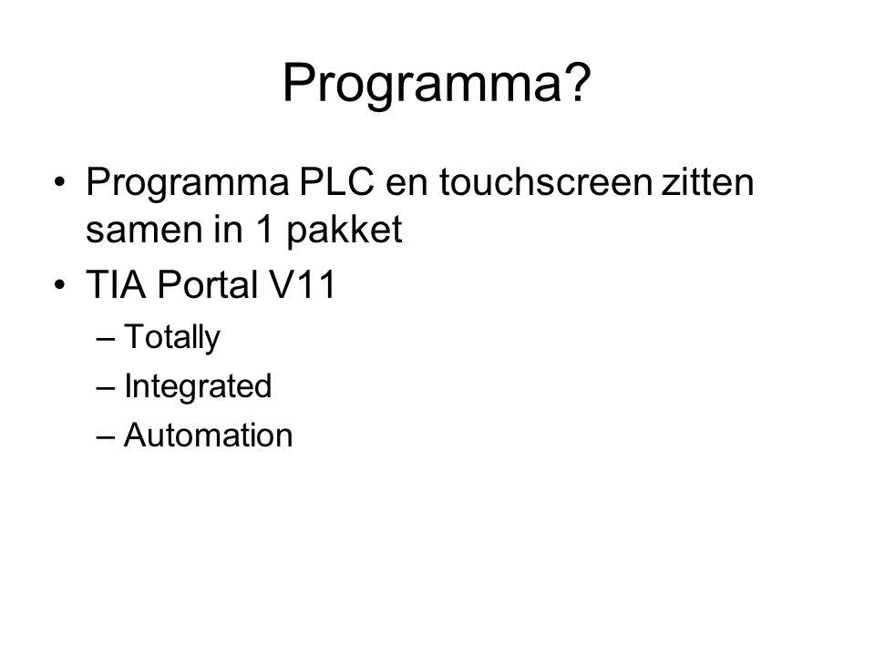 Programma.