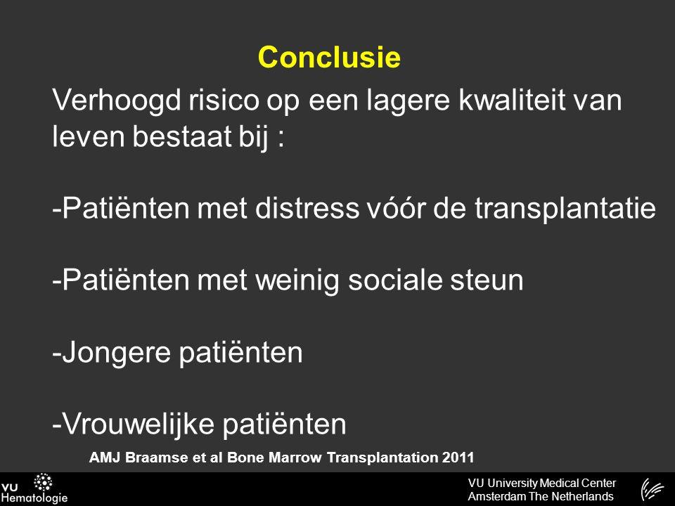 VU University Medical Center Amsterdam The Netherlands Hoe de dokter te individualiseren?