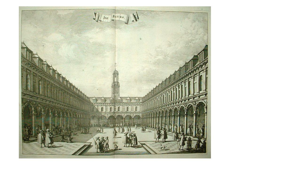 Amsterdam legde in de 17 e eeuw 3 brede grachten aan als halve cirkels om het centrum.