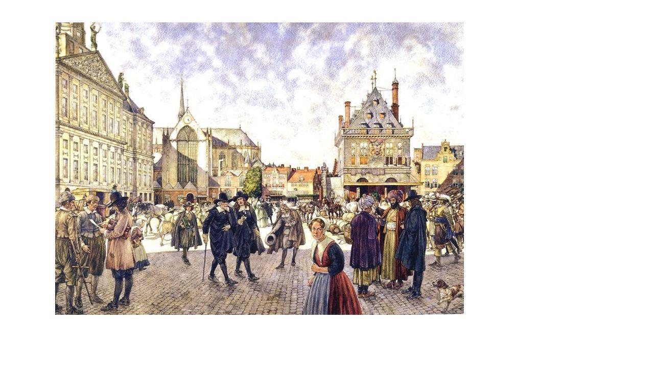 Handel en Nijverheid 17 e eeuw: Groot deel van Europese handel werd door Nederlandse schepen gedaan.