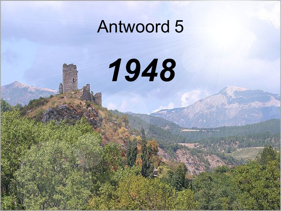 Antwoord 5 1948