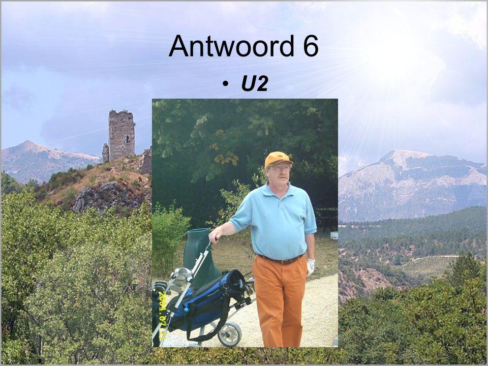 Antwoord 6 U2