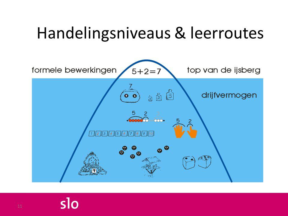 Handelingsniveaus & leerroutes 11