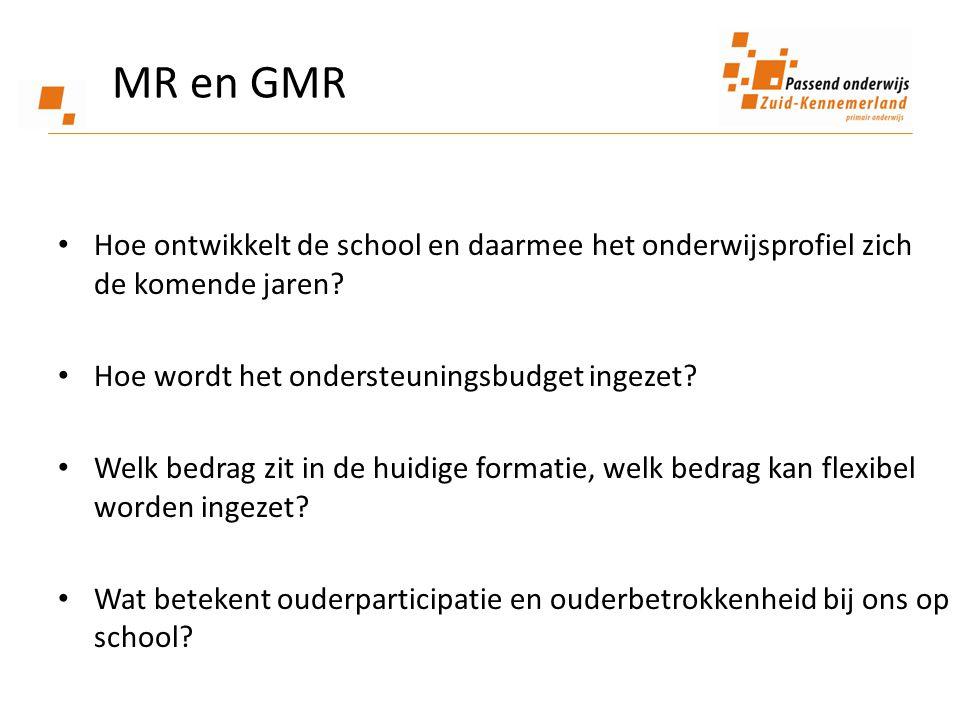 Hoe ontwikkelt de school en daarmee het onderwijsprofiel zich de komende jaren? Hoe wordt het ondersteuningsbudget ingezet? Welk bedrag zit in de huid