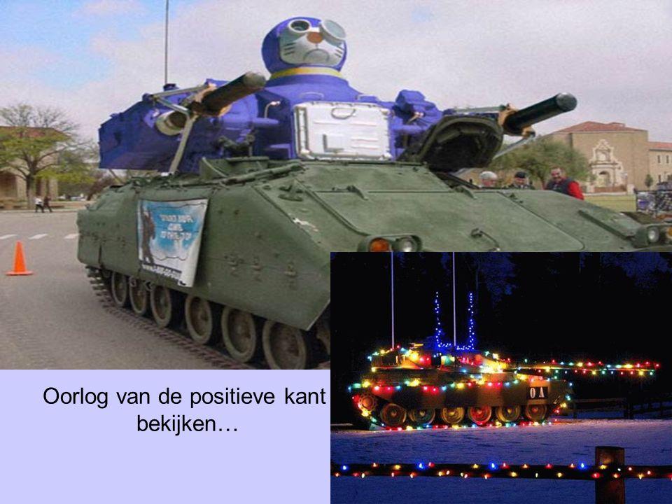 Oorlog van de positieve kant bekijken…