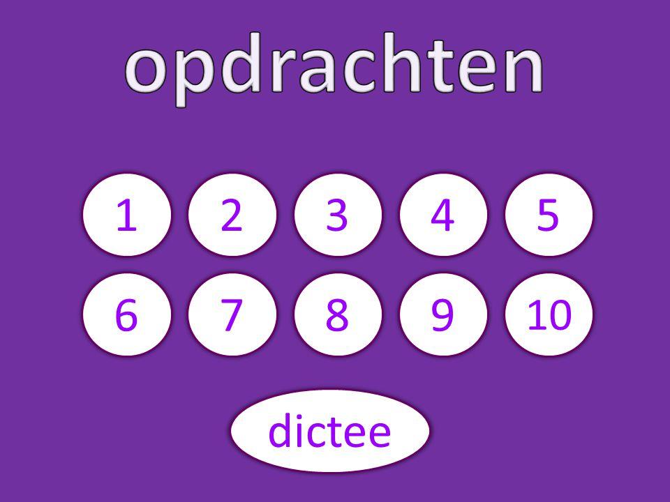 5234 6789 10 dictee 1